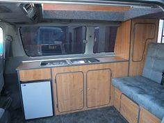 Convert Your Van Ltd - Toyota Regius Camper Conversion and Furniture Kits
