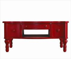 You gotta love red. #furniture