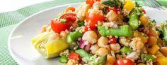 Pesto Quinoa Salad Recipe   Greatist