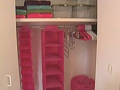 Storage containers - Organize your room by making the most out of closet space and storing items under your bed.
