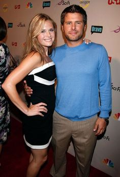 Maggie Lawson and James roday #psych