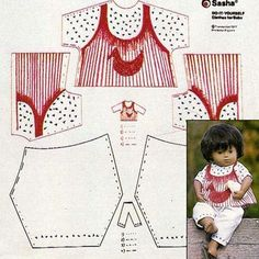 DIY baby outfit Kids Rugs, Dolls, Diy Baby, The Originals, How To Make, Outfits, Baby Dolls, Suits, Kid Friendly Rugs