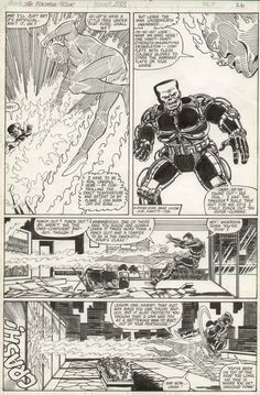 Fantastic Four #233, page 26 by John Byrne. 1981.