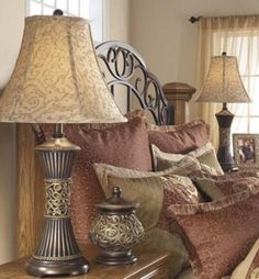 Lamp: Table Lamps For Living Room Bedroom Nightstand Set Of 2 With Shades Home Accent from The Artistic Style of the Lamp Shades for Table Lamps