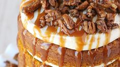 Our pecans will make the perfect topping on your fall cakes! Pumpkin Roll Cake, Pumpkin Bread, Pumpkin Cheesecake, Pumpkin Pancakes, Pumpkin Dessert, Libby's Pumpkin, Pumpkin Pudding, Spiced Pumpkin, Healthy Pumpkin