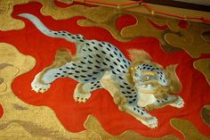 Tsuki Boko Lion Dog Embroidery     http://gionfestival.org/spiritual-origins/
