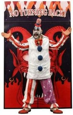 Cult Classic Hall of Fame Series Captain Spaulding  Available From West Point Toy & Hobby on Amazon #Houseof1000corpses #CaptainSpaulding #RobZombie