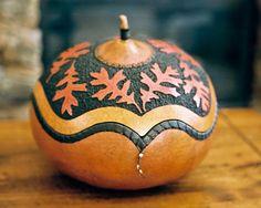 Jay Baker gourd art