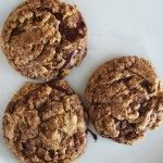 tarmac cookies aka oatmeal peanut butter chocolate chunk cookies - oh Baked, you are my favorite.