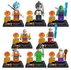 Find More Action & Toy Figures Information about New 8pcs/set Dragon ball Z Vegeta Son Goku Action Figures Building Model Kits Blocks Bricks Compatible toys Best Gift For Child,High Quality toy cars for toddlers,China gift toy Suppliers, Cheap toy cattle from Welcome Tina's Shop  on Aliexpress.com - Visit now for 3D Dragon Ball Z compression shirts now on sale! #dragonball #dbz #dragonballsuper