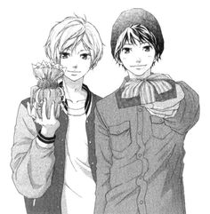 Some drawings from the third volume of Furi Furare. Manga Boy, Manga Anime, Anime Love, Anime Guys, Tanaka Kou, Manhwa, Really Cool Drawings, Ao Haru, Hirunaka No Ryuusei