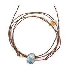 #bracelet Rosekafé en #labradorite