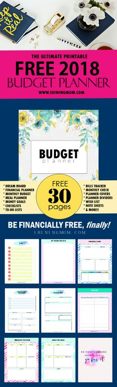 FREE Printable Budget Planner 2019 30+ Budget Templates! Bullet