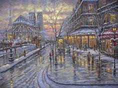 Christmas In Paris by Robert Finale