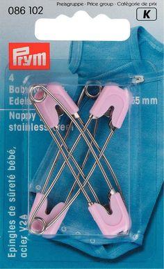Παραμάνες prym bebe ασφαλείας. Xρώματος: Ρόζ Συσκευασία: 1 συσκευασία 4 τεμαχίων