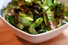 Brussels Sprouts Chips by Michelle Tam http://nomnompaleo.com