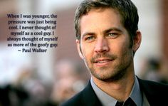 Paul Walker was born on September he died in a tragic accident on November and he was a famous American actor. Walker was raised primarily in… Paul Walker Crash, Simon Walker, Rip Paul Walker, Cody Walker, Paul Walker Quotes, Paul Walker Pictures, Fast And Furious, Furious 6, Meadow Walker