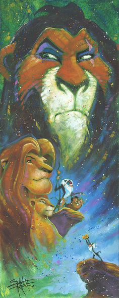 The Lion King Wicked Brother by Stephen Fishwick