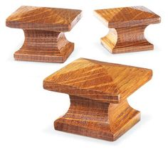 Shop-Made Arts & Crafts Knobs - Woodworking Projects - American Woodworker