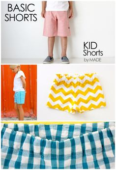 Free Sewing Patterns - Kids Shorts!