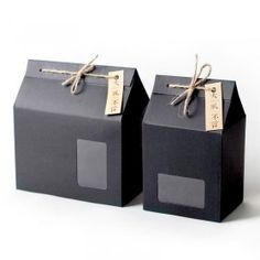 Thick Brown Kraft Paper Folding Gift Box with Rectangular Window Lace-up with Hemp Rope-B - Bags - Package&Customize ESGREEN-Enjoy / Slow / Green Tea Packaging, Food Packaging Design, Paper Bag Design, Paper Folding, Printable Box, Kraft Gift Boxes, Kraft Paper, Box Design, Diy For Kids