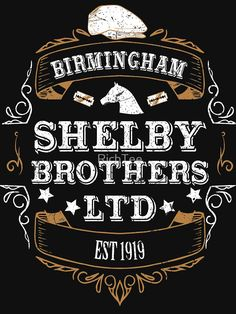 """""""Peaky Blinders - Shelby Brothers LTD"""" Unisex T-Shirt by RichTee 