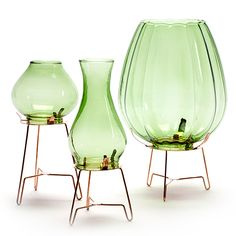 designdelicatessen - Serax - Vintage tealightholder - Green - Serax