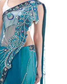 Indian Outfits, Saree, Design, Sari, Saris, Sari Dress, Half Saree