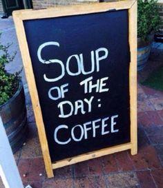 Da's vast geen zuivere koffie ...