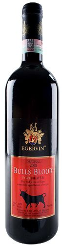 Bulls Blood - the cuvée red wine of Eger. In Hungarian called Bikavér. #Hungary #wine