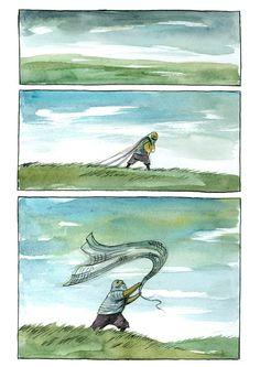 Silent Comics by Ileana Surducan, via Behance (Part 1)