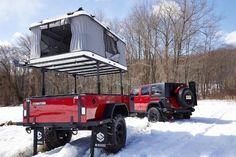 Grand Raid Trailer Tent Outdoors