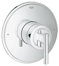 Atrio Single function pressure balance trim with control module 19866 000  Use with our choice grohe