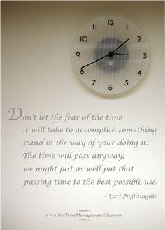 time management quotes   Time Management Quotes http://www.GetTimeManagementTips.com