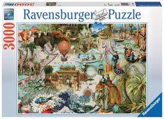 Oceania - 3000 Piece Jigsaw Puzzle