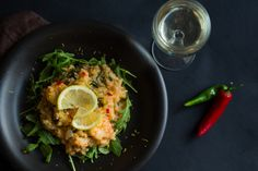 Lemon Prawn & Rocket Risotto