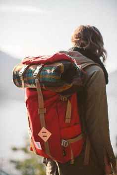 Blanket or sleeping bag wont fit a the bottom? Adjust the straps on top and put it there. Just might work! - Tap The Link Now To Find Gadgets for Survival and Outdoor Camping Adventure Awaits, Adventure Travel, Adventure Style, Wanderlust, Estilo Hippie, Photos Voyages, Travel Backpack, Hiking Backpack, Hiking Bag