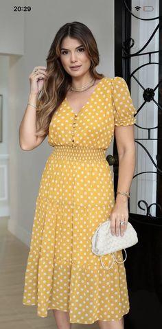 Trendy Dresses, Cute Dresses, Casual Dresses, Short Dresses, Fashion Dresses, Summer Dresses, Clothes For Women Over 40, Modelos Fashion, Outdoor Fashion