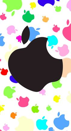 Colorful Apple Logo Wallpapers - Bing images