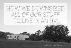 how-we-downsized-for-full-time-rv-living-bw