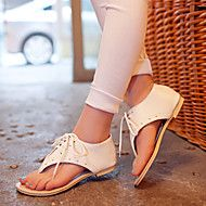 Women's+Summer+Comfort+Leatherette+Dress+Casual+Flat+Heel+