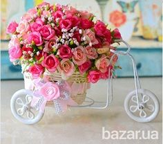 Карета с цветами - Прочие товары для дома Полтава на Bazar.ua
