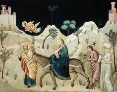 Giotto di Bondone, Huída a Egipto (Antiguo Testamento)