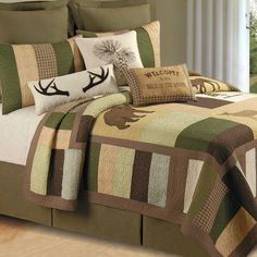 Rustic Quilts  http://www.snowbedding.com/