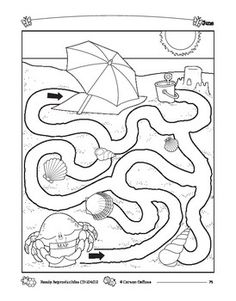Crafts,Actvities and Worksheets for Preschool,Toddler and Kindergarten.Lots of worksheets and coloring pages. Preschool Learning Activities, Summer Activities For Kids, Preschool Worksheets, Maze Puzzles, Puzzles For Kids, Mazes For Kids Printable, Free Printable, Maze Worksheet, Drawing For Kids