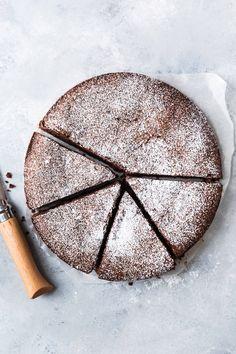 Gâteau fondant au chocolat et à l'huile d'olive | Christelle is Flabbergasting