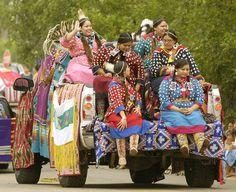 Participants in a previous Crow Fair. (Larry Mayer/Billings Gazette)