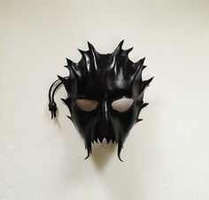 Orc Skull  Black by HallowedHauntings on Etsy, $50.00