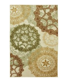 """Anna's Time Area Rug by Mohawk Home on #zulily""."