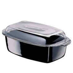Gourmet Roasting Pan Black, $140, now featured on Fab.